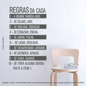 Frases De Adesivos Regras Da Casa Mod:67