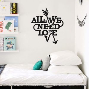 Frases Para Parede All We Need Is Love Mod:71