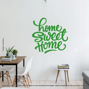 Frases Para Parede Home Sweet Home Mod:99