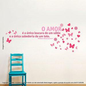 Adesivo Frases Amor Mod:126