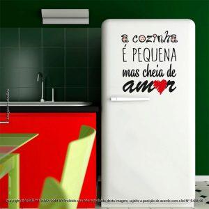 Adesivos De Parede Frases Cozinha E Amor Mod:199
