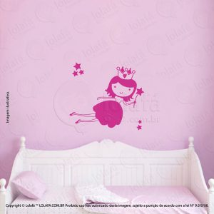 Adesivos De Paredes Infantil Princesa Mod:4
