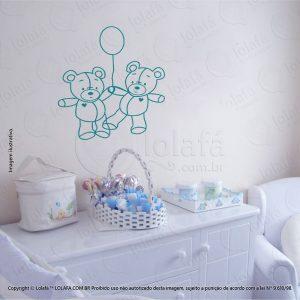 Adesivos De Paredes Infantil Ursos Mod:14