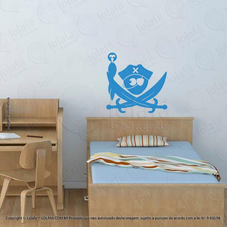 Adesivos Parede Infantil Pirata Mod:39
