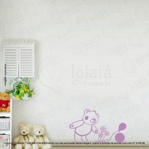 Adesivos De Parede Infantis Urso Mod:53