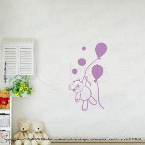 Adesivos De Paredes Infantil Urso Mod:54
