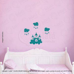 Adesivos De Parede Infantis Castelo Mod:83