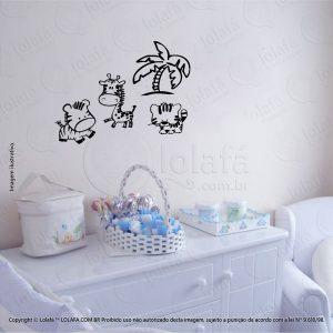 Adesivos Parede Infantil Animais Mod:89