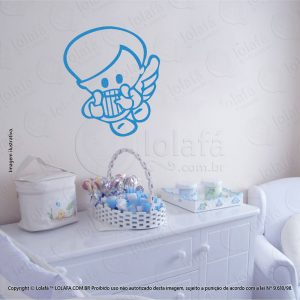 Adesivos De Parede Infantil Anjo Mod:92