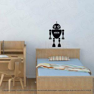 Adesivo Parede Infantil Robô Mod:98