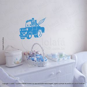 Adesivo Parede Infantil Carro Mod:108