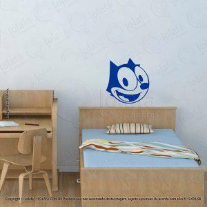 Adesivo Para Quarto Infantil Gato Felix Mod:110