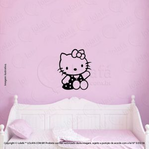 Adesivo Para Quarto Infantil Hello Kitty Mod:130
