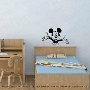 Adesivo De Parede Infantil Mickey Mod:151