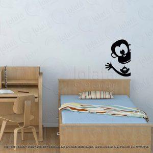 Adesivo Parede Infantil Macaco Mod:168