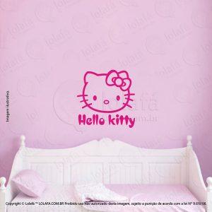 Adesivo Para Quarto Infantil Hello Kitty Mod:170