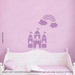Adesivos De Paredes Infantil Castelo Mod:194