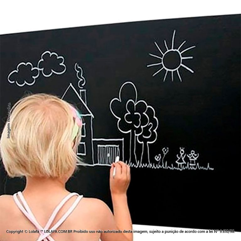 Adesivo Lousa Infantil Metro Mod:1