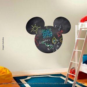 Quadro Negro Adesivo Infantil Mickey Mod:8