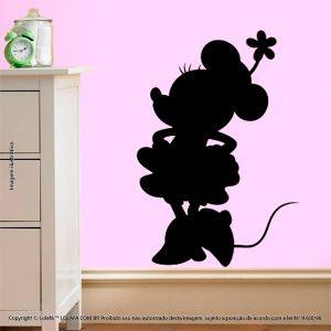 Adesivo De Lousa Infantil Minnie Mod:18