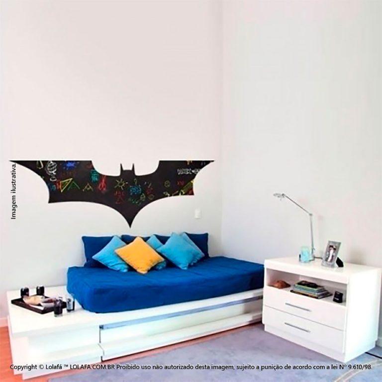 Adesivo Lousa Negra Infantil Batman Mod:20