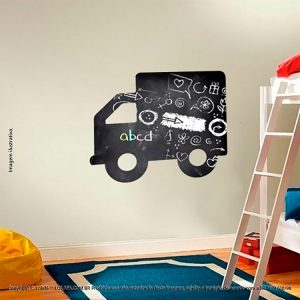 Adesivo De Parede Lousa Infantil Caminhão Mod:21