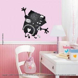 Adesivo De Lousa Infantil Bob Esponja Mod:34