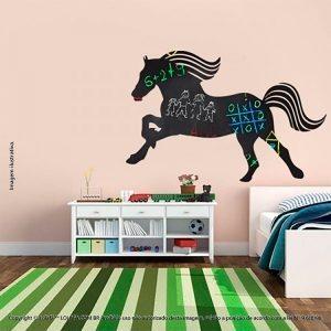 Adesivo Lousa Negra Infantil Cavalo Mod:36