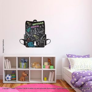 Adesivo Lousa Infantil Mochila Mod:129