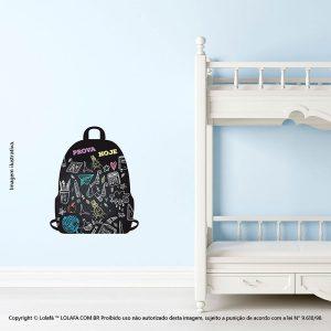 Adesivo De Lousa Infantil Mochila Mod:130