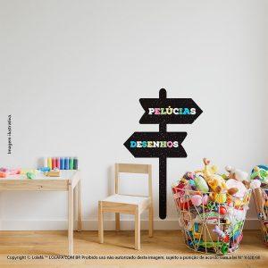 Adesivo Lousa Infantil Placas Mod:145