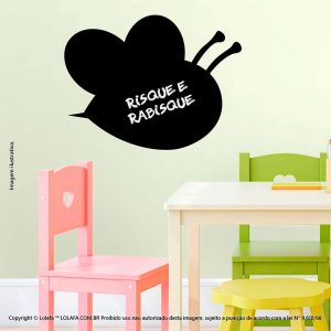 Adesivo Quadro Negro Infantil Abelha Mod:227