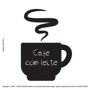 Adesivo Lousa Cozinha Café Mod:321