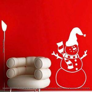 Adesivos Para Natal Boneco De Neve Mod:51