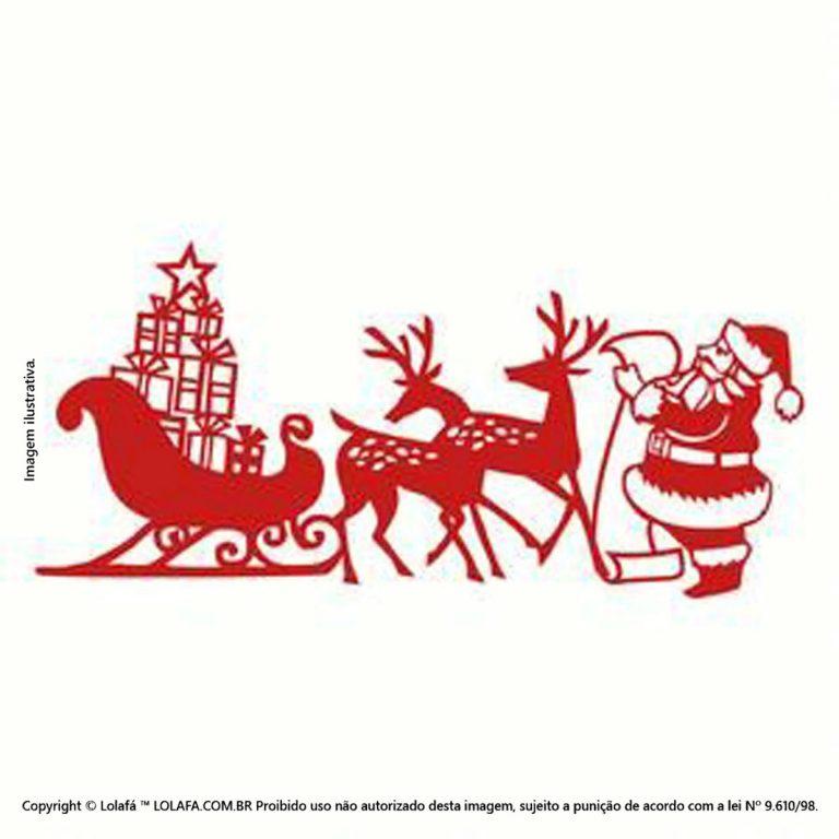 Adesivo Natal Lista De Noel Mod:128