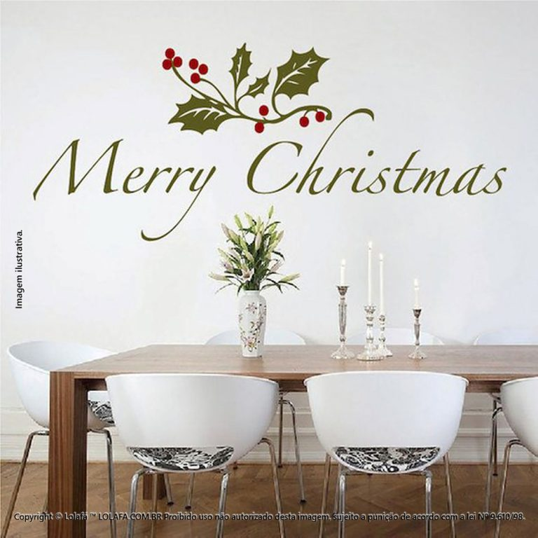 Natal Adesivos Frase Mod:144