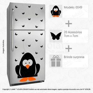 Adesivos Geladeira Pinguim Mod:49