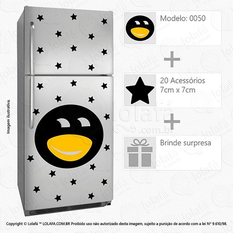 Adesivos Geladeiras Pinguim Mod:50