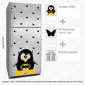 Adesivos Geladeira Pinguim Mod:69