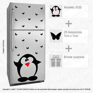 Adesivos Geladeiras Pinguim Mod:120