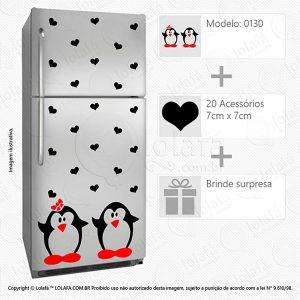 Adesivos Geladeiras Pinguins Mod:130