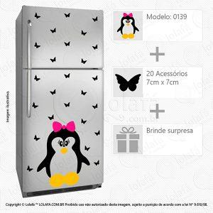 Adesivos Geladeira Pinguim Mod:139