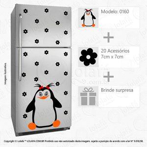 Adesivos Geladeiras Pinguim Mod:160