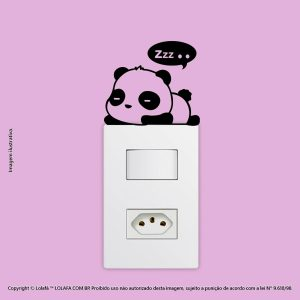 Adesivo Interruptor Panda Mod:11