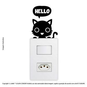 Adesivo De Interruptor Gatinho Mod:30