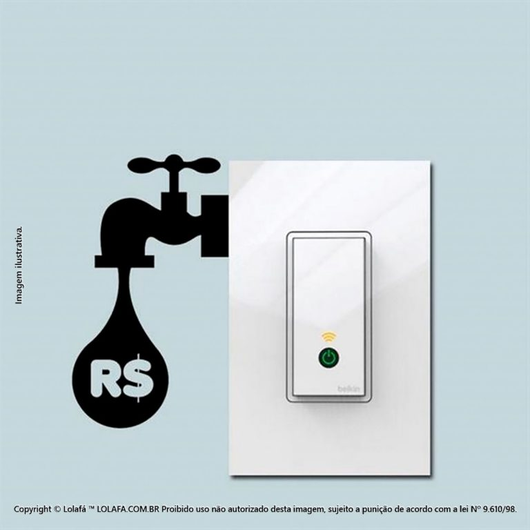 Adesivo De Interruptor Torneira Mod:36