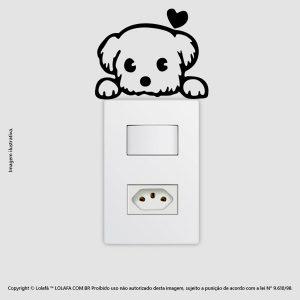 Adesivo Interruptor Cachorrinho Mod:53