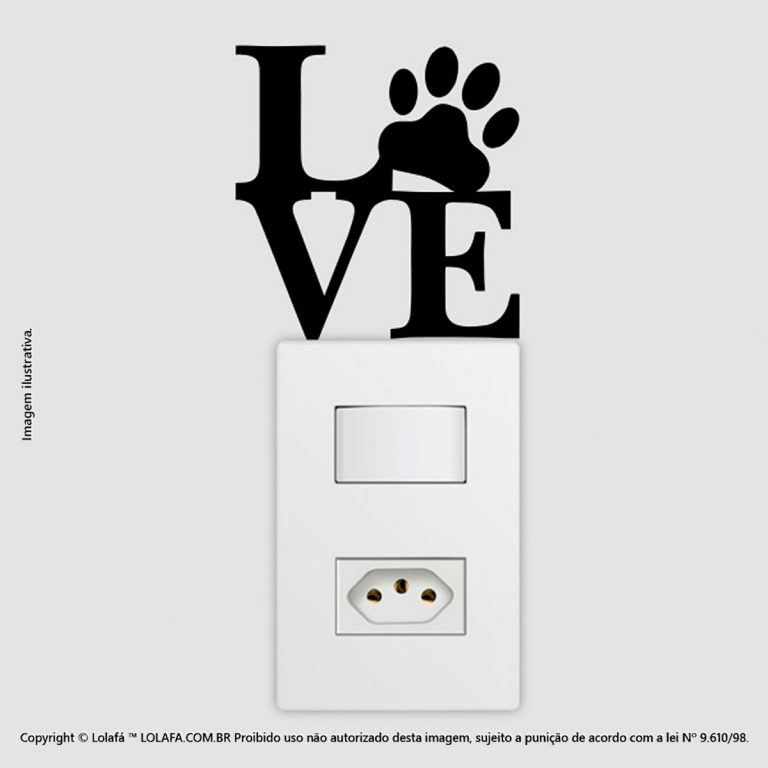 Adesivo De Interruptor Animais Mod:60