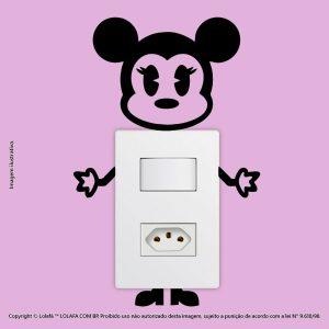 Adesivo Para Interruptor Minnie Mod:63