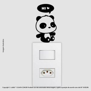 Adesivo Interruptor Panda Mod:65